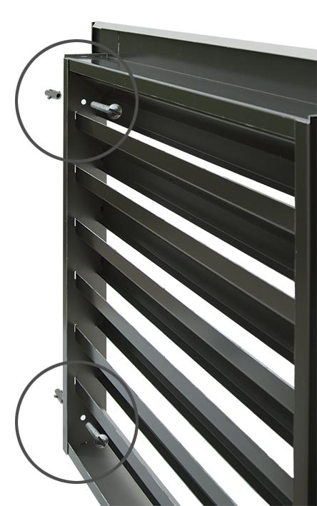 Rejillas de ventilacion montaje