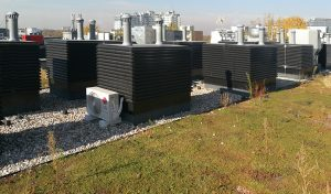 Gran altura y tamaño Remate de chimenea y ventilación VENTUM